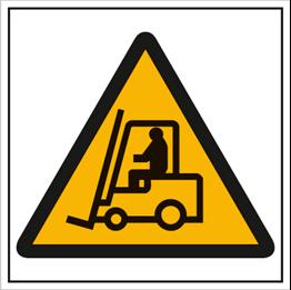Obrazek dla kategorii Znak Ostrzeżenie przed urządzeniami do transportu poziomego (306)