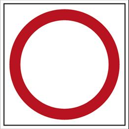 Obrazek dla kategorii Znak Zakaz ruchu w obu kierunkach (702)