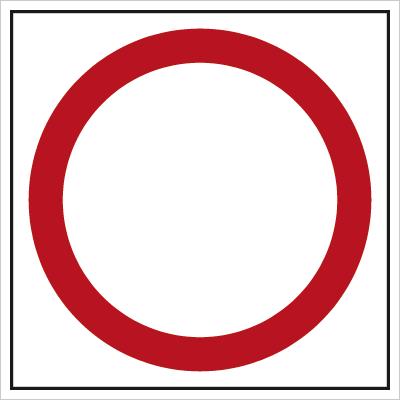 Znak Zakaz ruchu w obu kierunkach (702)