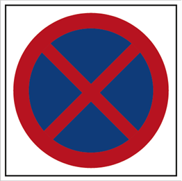 Obrazek dla kategorii Znak Zakaz zatrzymywania się (702-08)