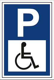 Obrazek dla kategorii Znak Parking dla osób niepełnosprawnych (703-06)