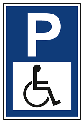 Znak Parking dla osób niepełnosprawnych (703-06)
