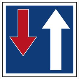 Obrazek dla kategorii Znak Pierwszeństwo na zwężonym odcinku drogi (703-11)