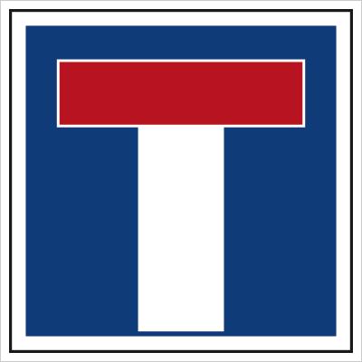 Znak Droga bez przejazdu (703-12)