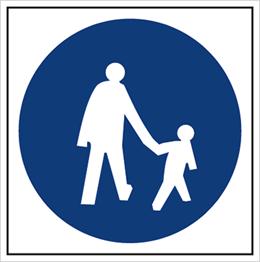 Obrazek dla kategorii Znak Droga dla pieszych (703-13)