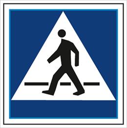 Obrazek dla kategorii Znak Przejście dla pieszych (703-14)
