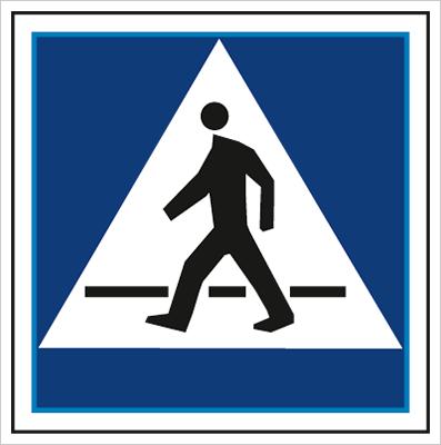 Znak Przejście dla pieszych (703-14)