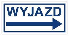 Obrazek dla kategorii Znak Wyjazd w prawo (704-03)