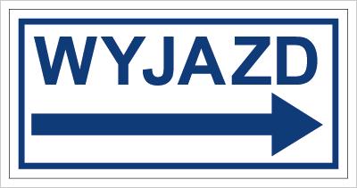 Znak Wyjazd w prawo (704-03)