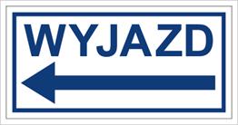 Obrazek dla kategorii Znak Wyjazd w lewo (704-04)