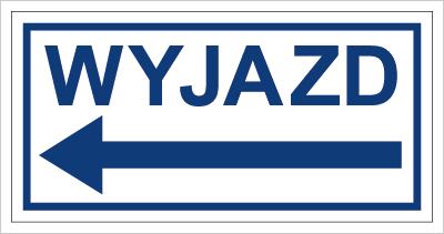 Znak Wyjazd w lewo (704-04)