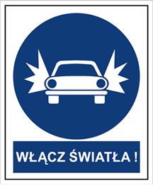 Obrazek dla kategorii Znak Nakaz włączenia świateł (704-11)