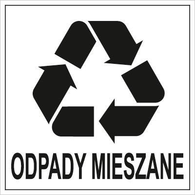 Znak Odpady Mieszane (857-33)
