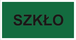 Obrazek dla kategorii Znak Szkło (857-35)