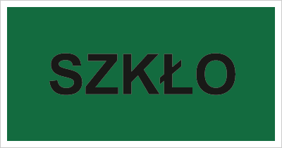 Znak Szkło (857-35)