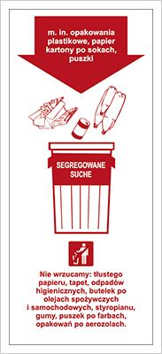Znak Segregowane Suche (857-39)