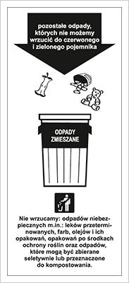 Znak Odpady Zmieszane (857-41)