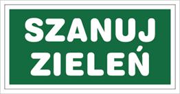 Obrazek dla kategorii Znak Szanuj zieleń (857-14)