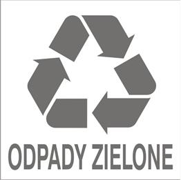 Obrazek dla kategorii Znak Odpady zielone(857-44)