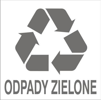 Znak Odpady zielone(857-44)