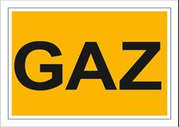 Obrazek dla kategorii Znak Gaz (870)