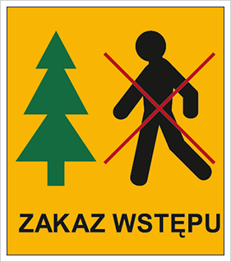 Obrazek dla kategorii Znak Zakaz wstępu do lasu (857-05)
