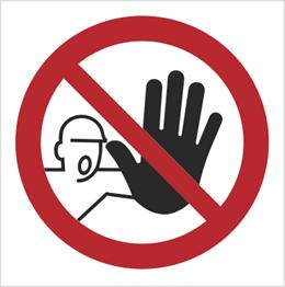 Obrazek dla kategorii Znak nieupoważnionym wstęp wzbroniony - bez opisu (606)
