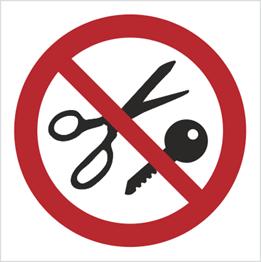 Obrazek dla kategorii Znak Zakaz wstępu z przedmiotami metalowymi (622)