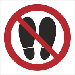 Obrazek dla kategorii Znak Zakaz deptania (631)