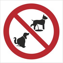 Obrazek dla kategorii Znak Zakaz wyprowadzania psów (632)