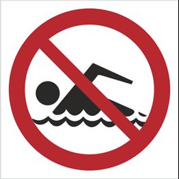 Obrazek dla kategorii Znak Zakaz kąpieli (bez opisu) (655)