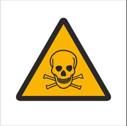 Obrazek dla kategorii Znak Ostrzeżenie przed substancjami toksycznymi (302)