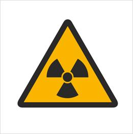 Obrazek dla kategorii Znak Ostrzeżenie przed materiałami radioaktywnymi (304)