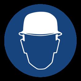Obrazek dla kategorii Znak Nakaz stosowania ochrony głowy (403)