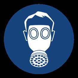 Obrazek dla kategorii Znak Nakaz stosowania ochrony dróg oddechowych (405)