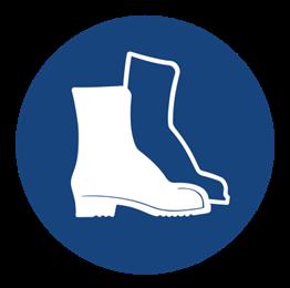 Obrazek dla kategorii Znak Nakaz stosowania ochrony stóp (406)