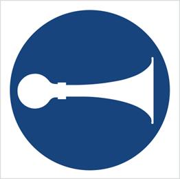 Obrazek dla kategorii Znak Nakaz używania sygnału (409)