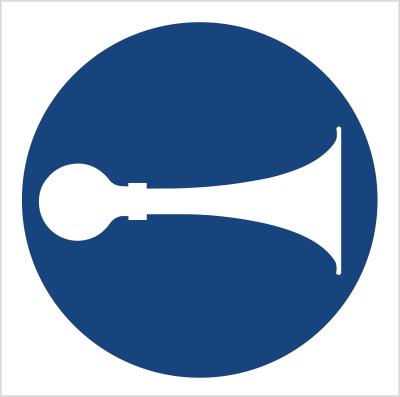 Znak Nakaz używania sygnału (409)