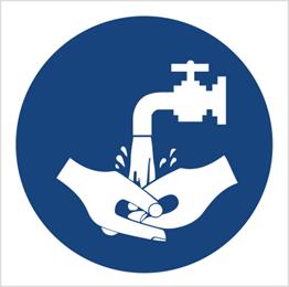 Obrazek dla kategorii Znak Nakaz mycia rąk (411)