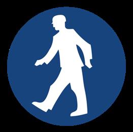 Obrazek dla kategorii Znak Nakaz przejścia w oznakowanym miejscu (412)