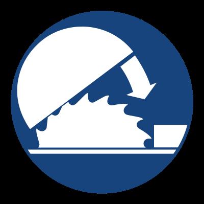 Znak Nakaz stosowania osłony nastawczej (413)