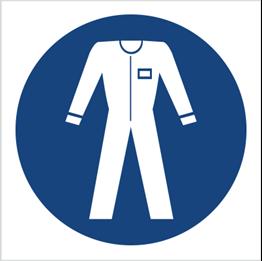 Obrazek dla kategorii Znak Nakaz stosowania odzieży ochronnej (416)