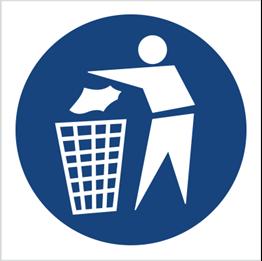 Obrazek dla kategorii Znak Zachowaj czystość (417)