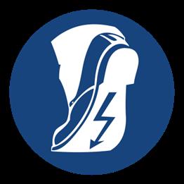 Obrazek dla kategorii Znak Stosuj obuwie specjalne (421)