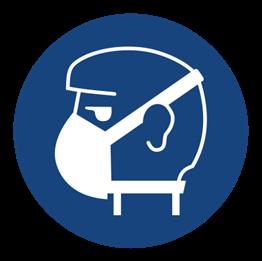 Obrazek dla kategorii Znak Nakaz stosowania ochrony dróg oddechowych (423)