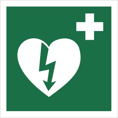 Znak Defibrylator (508)