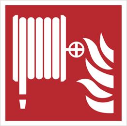 Obrazek dla kategorii Znak hydrant wewnętrzny wg PN-EN ISO 7010 (F02)