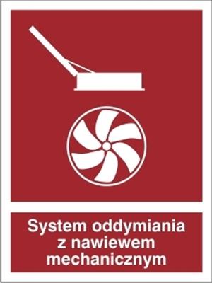 Znak System oddymiania z nawiewem mechanicznym (227-04)