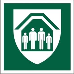 Obrazek dla kategorii Znak Schron ewakuacyjny (E21)