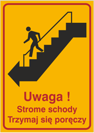 Obrazek dla kategorii Uwaga! Strome schody. Trzymaj się poręczy (157)